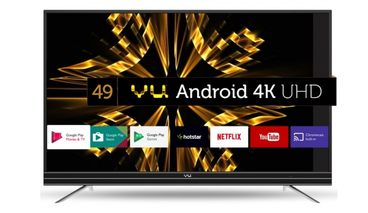 Vu 43-inch (42SU128) 4K Android TV