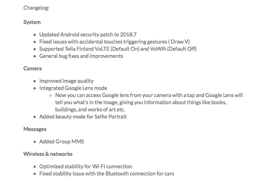 OnePlus OxygenOS 5.1.9