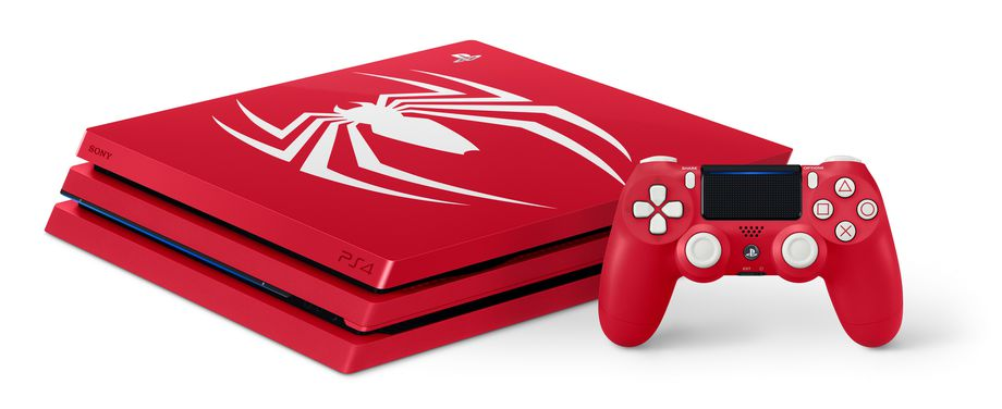Sony Limited Edition 'Amazing Red' Spider-Man PS4 Pro