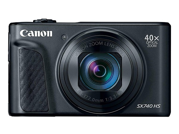 Canon Powershot SX740 HS Features 40x Zoom Lens and 4K Recording
