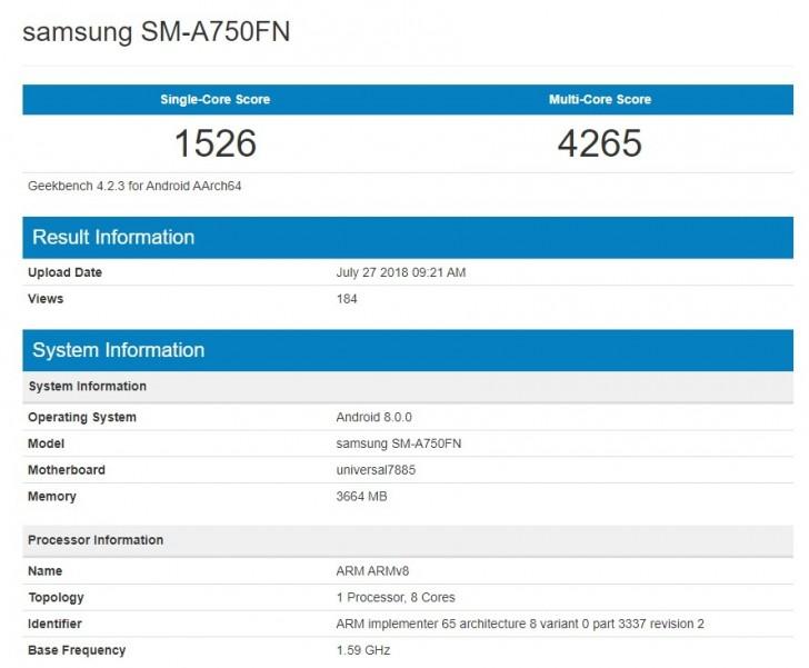 Samsung SM-A750FN