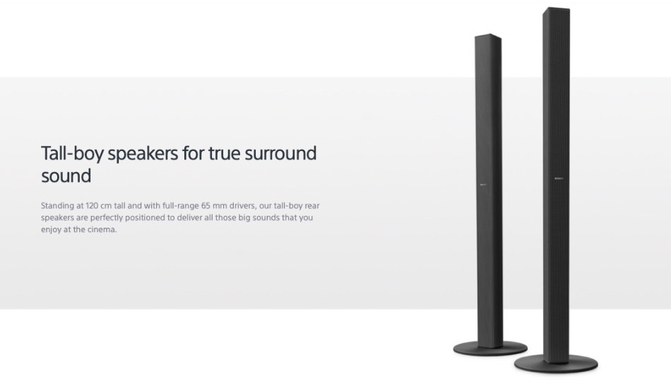 Sony 5.1 Home Cinema Soundbars
