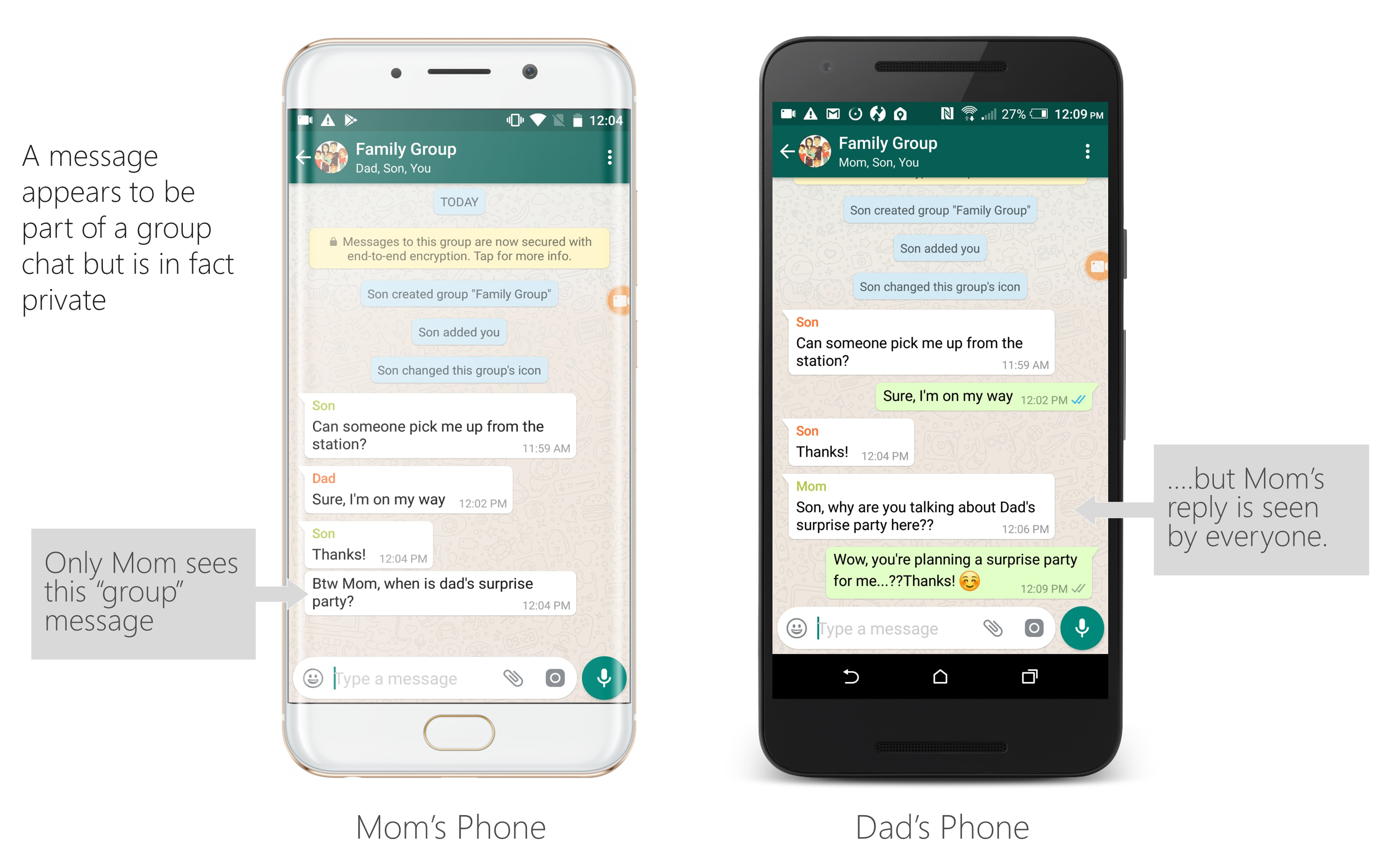 WhatsApp vulnerability allows hackers to manipulate messages before
