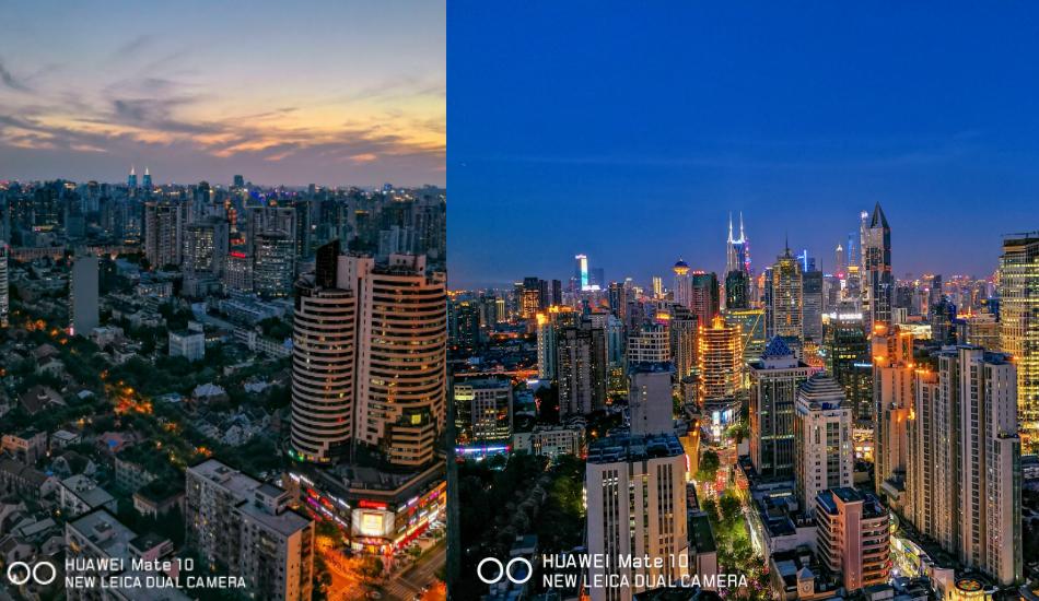 Huawei Mate 10 camera night mode