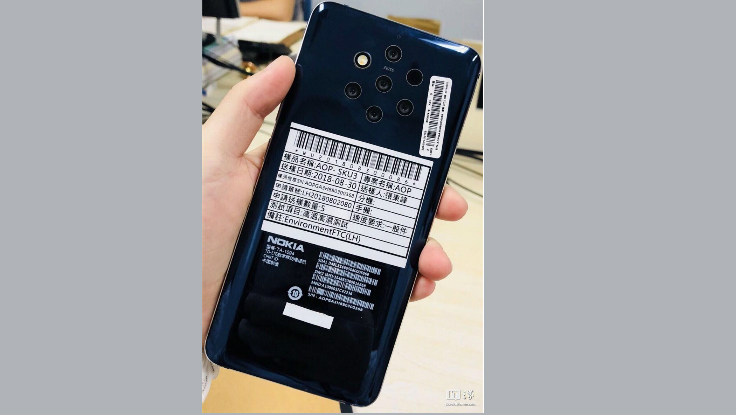 Possible Nokia 9 Smartphone Sighted; Sporting A Six-Camera Array