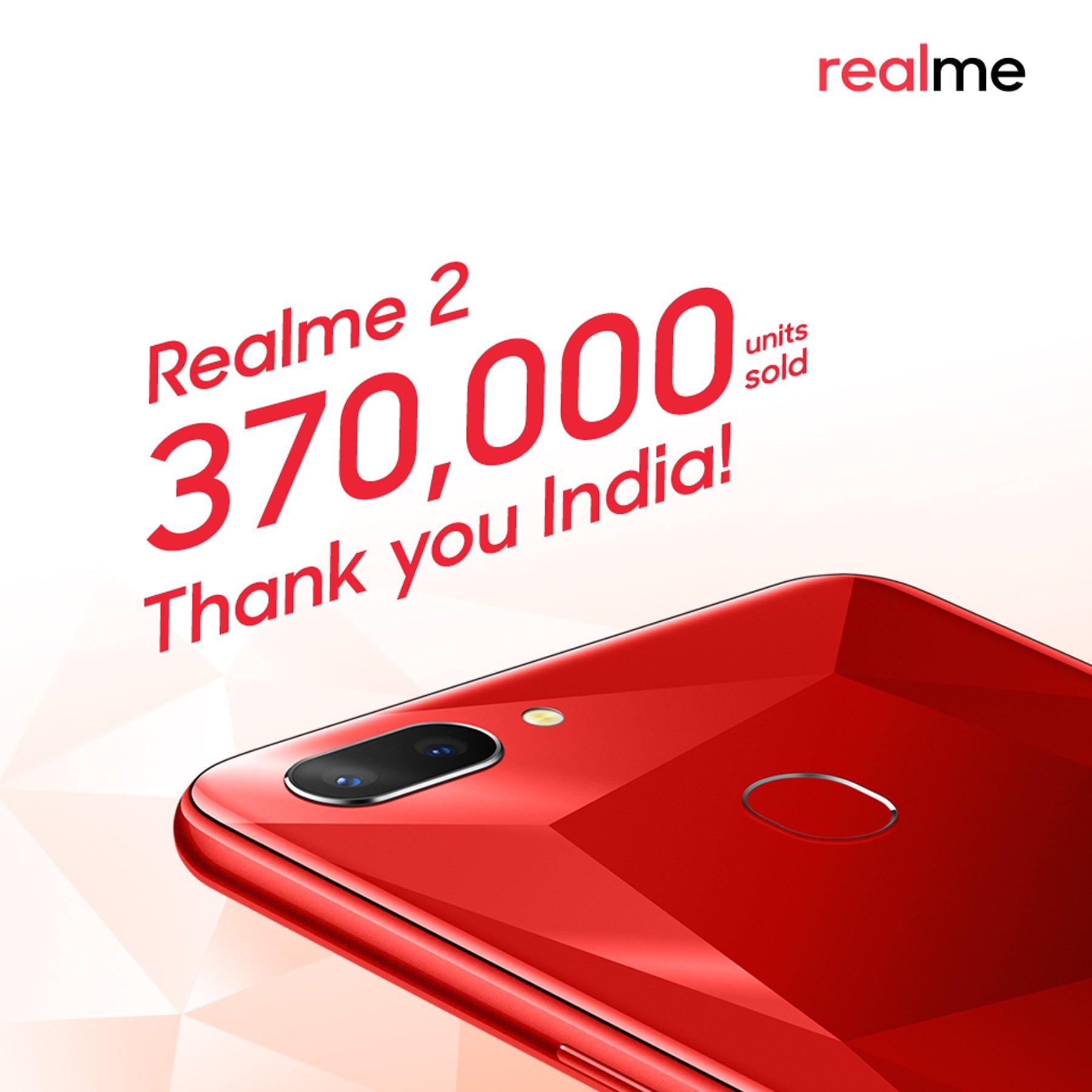 Realme 2 sales