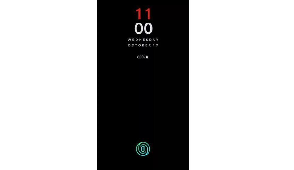 OnePlus 6T in-display fingerprint scanner