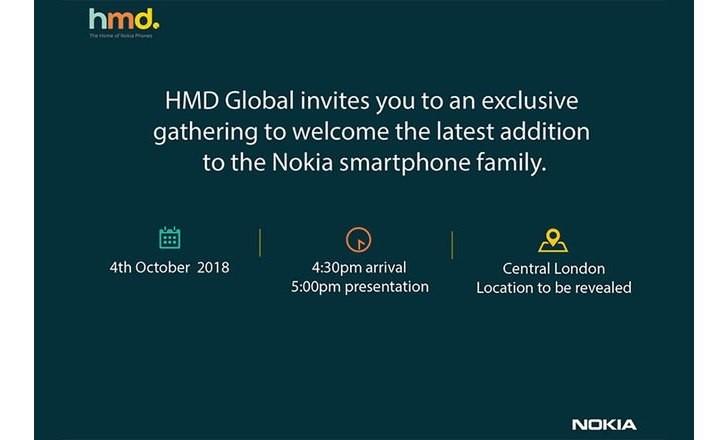 HMD Global October 4