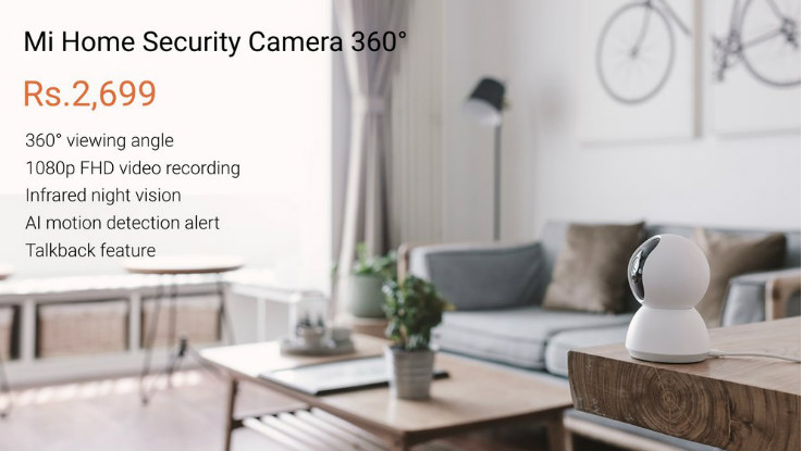 Xiaomi Mi Purifier 2S and Mi Home Security Camera 360-degree
