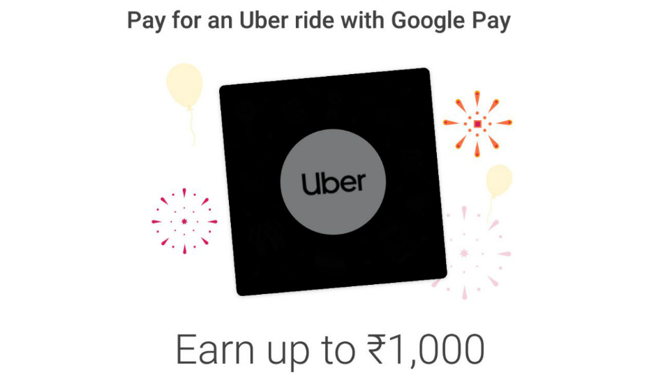 Google Pay for Uber