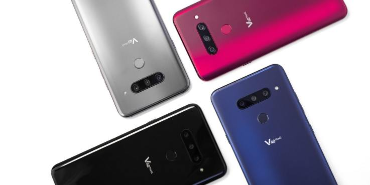LG unveils five camera smartphone V40 ThinQ