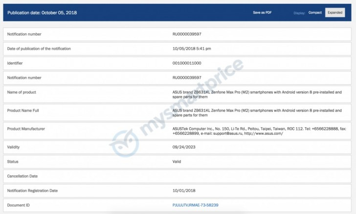 Asus Zenfone Max M2, Zenfone Max Pro M2