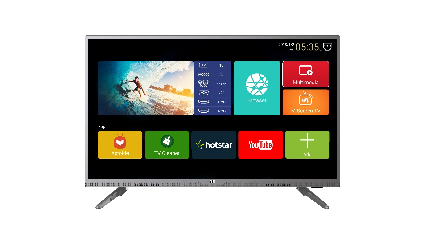 YU Yuphoria Smart LED TV