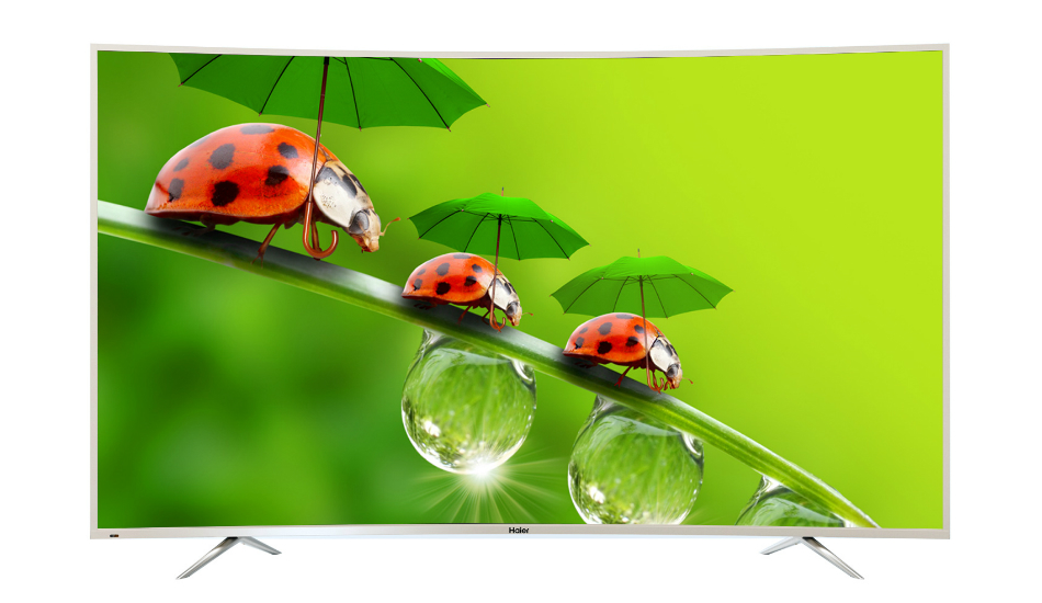 Haier Quantum Dot 4K LED Curved TV