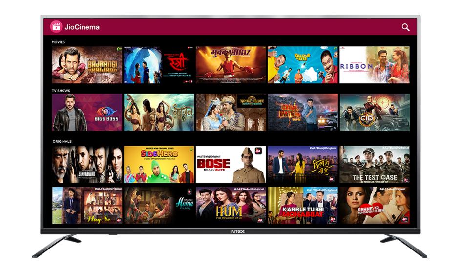 Intex 4K UHD Smart TV