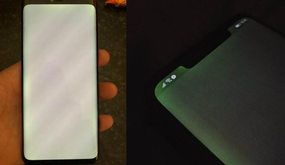 Huawei Mate 20 Pro screen bleeding issue