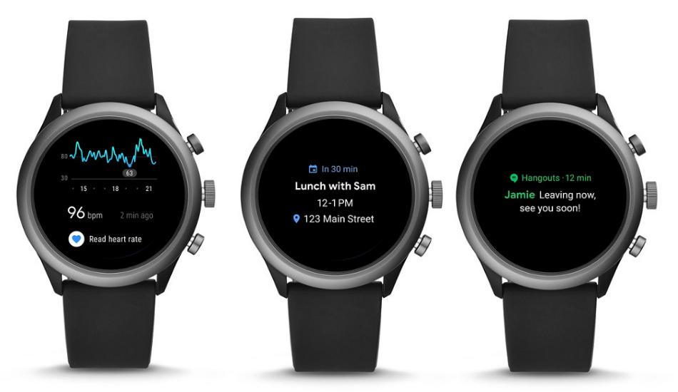 Fossil Sport Wear OS smartwatch