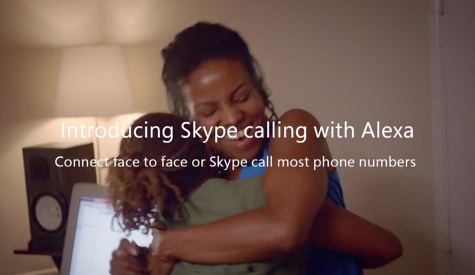 Skype calling on Alexa