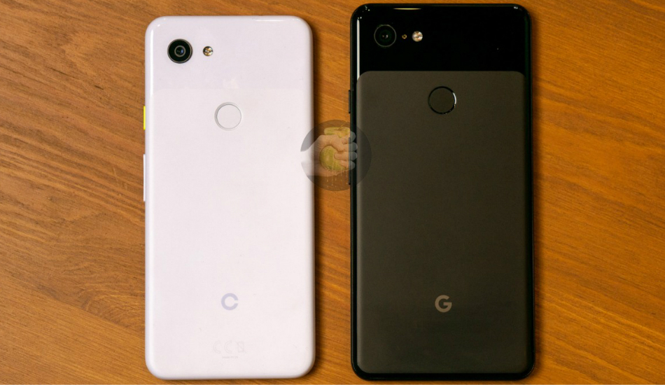 Here is the Pixel 3 'Lite' photographed next to other smartphones