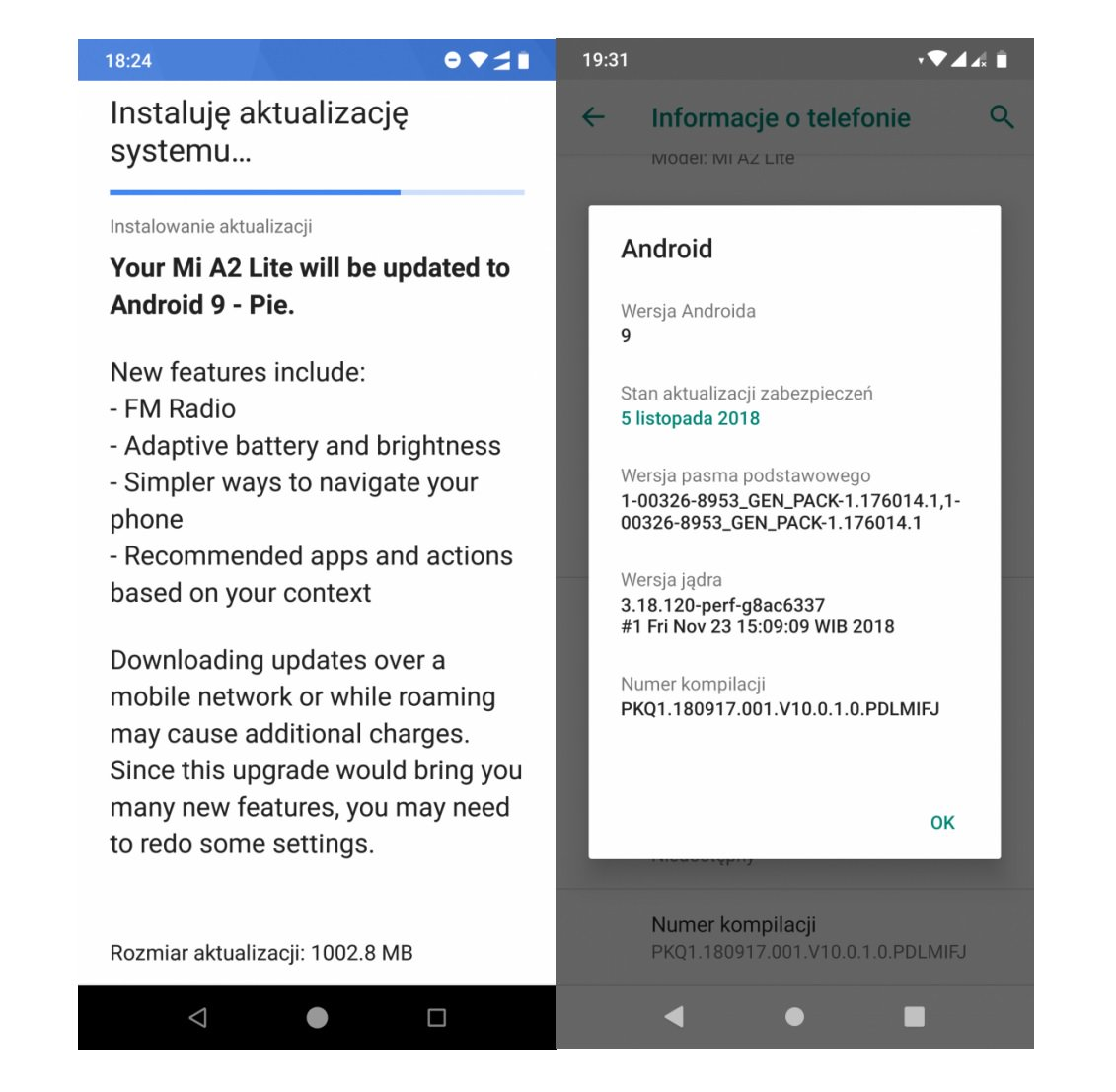 Xiaomi Mi A2 Lite receiving Android 9 Pie stable update