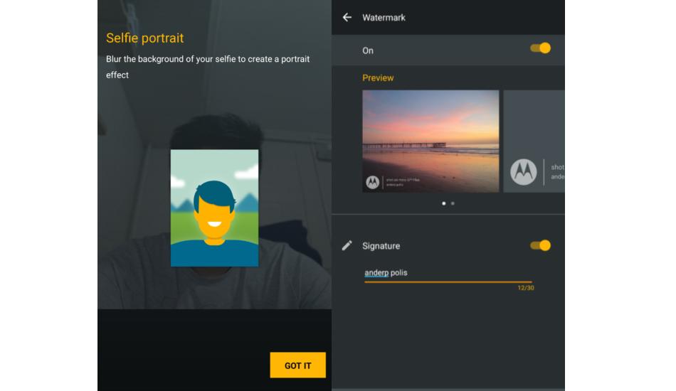 Moto Camera app update brings AR stickers, watermarking to