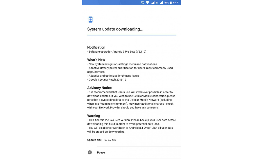 HMD rolls out Android 9 Pie beta to Nokia 8