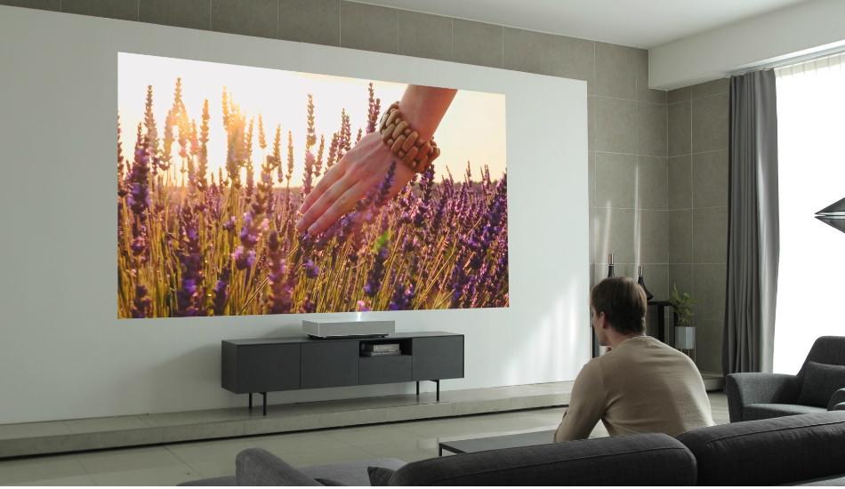 LG CineBeam Laser 4K Projector