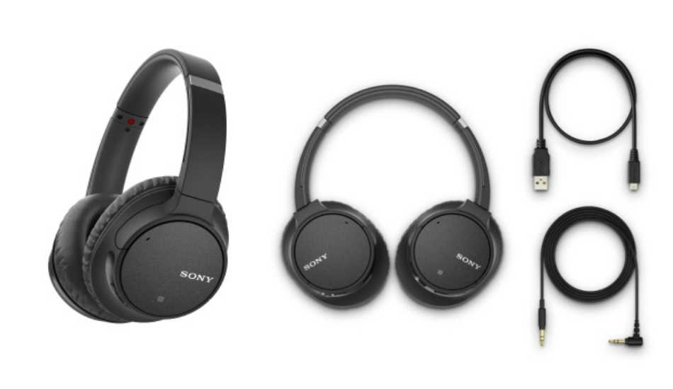 Sony WH-CH700N Wireless Noise-Cancelling Headphones