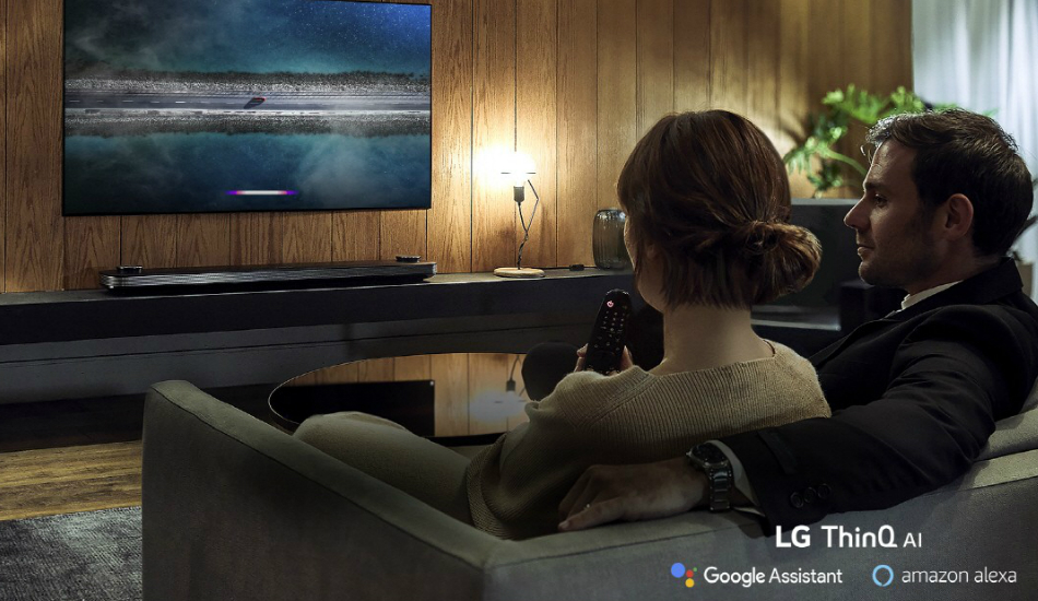 LG's 2019 TVs use software to improve the user's viewing experience