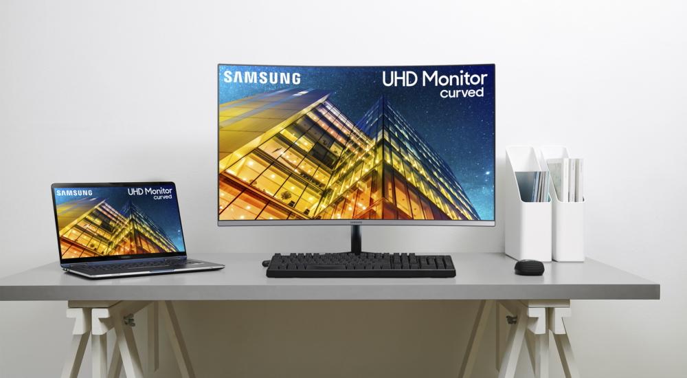 Samsung Curved UR59C 4K UHD Monitor