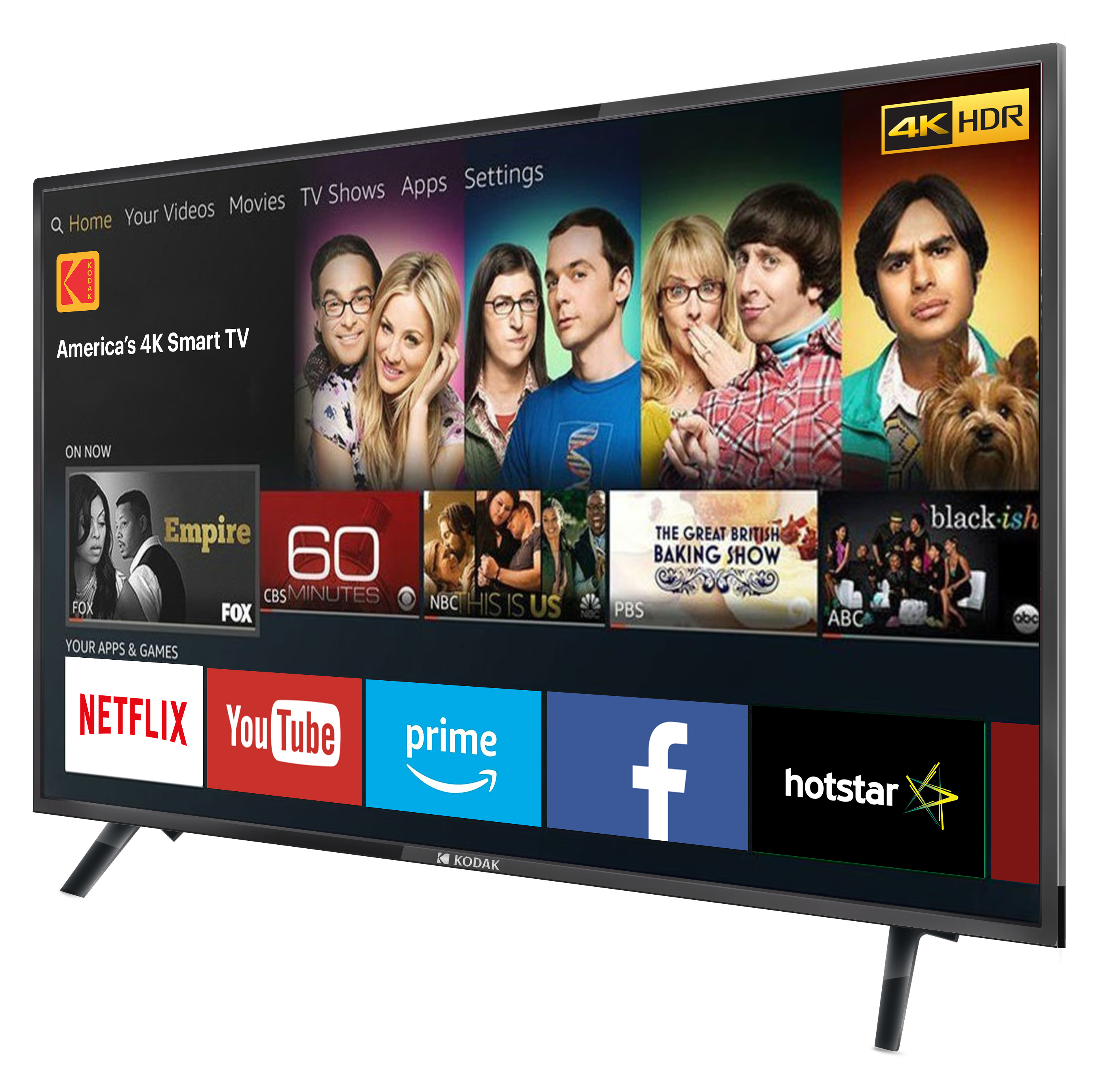 Kodak 43-inch UHDX 4K Smart TV