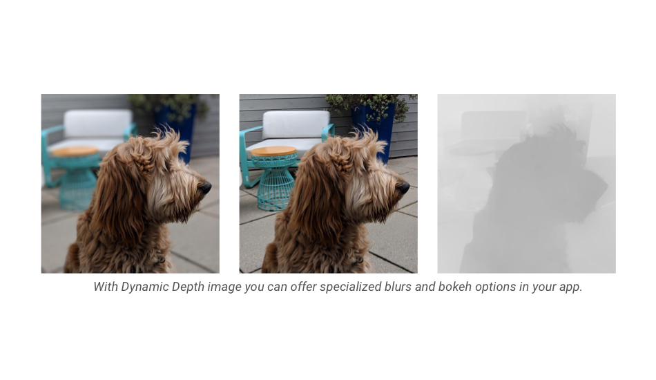 Dynamic Depth for specialised blurs and bokeh options