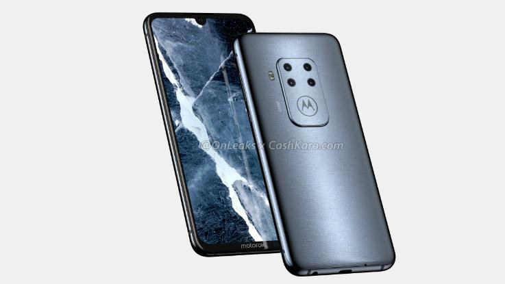 Upcoming Motorola smartphone renders with four cameras, in-display fingerprint sensors leaked