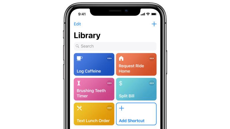 macOS 10.15 Siri Shortcuts