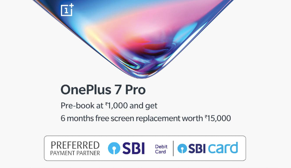 OnePlus 7 Pro pre-book on Amazon
