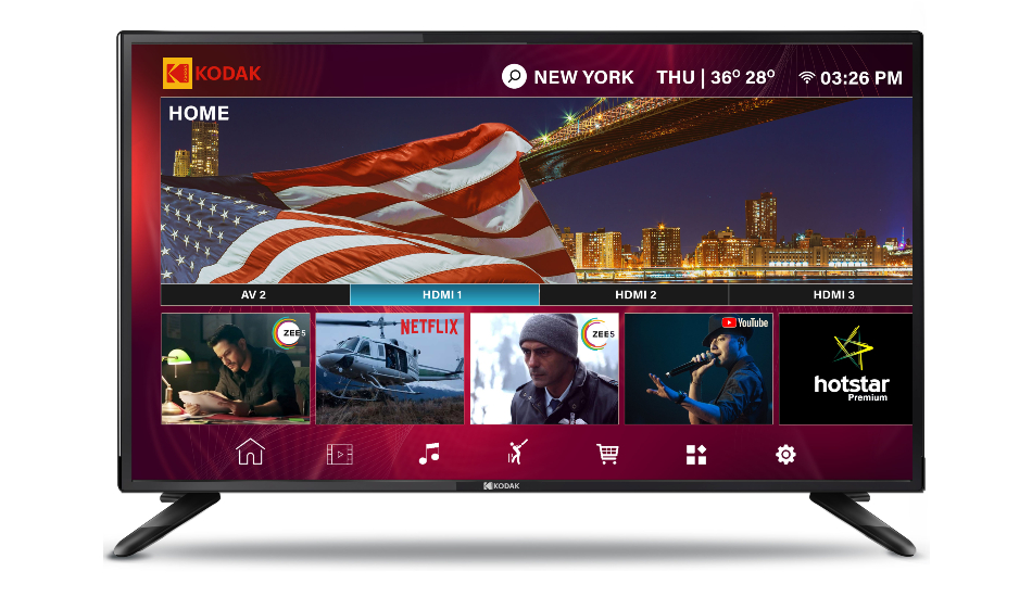 Kodak 40-inch XPRO Full HD LED Smart TV