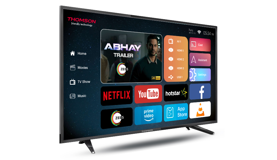Thomson UD9 40 inch Ultra HD 4K LED Smart TV