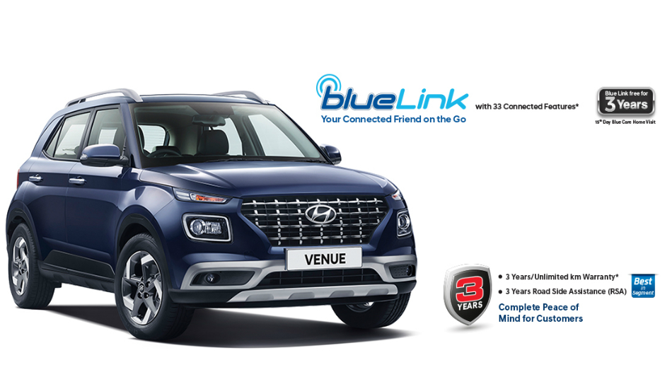 Hyundai Venue Connected SUV