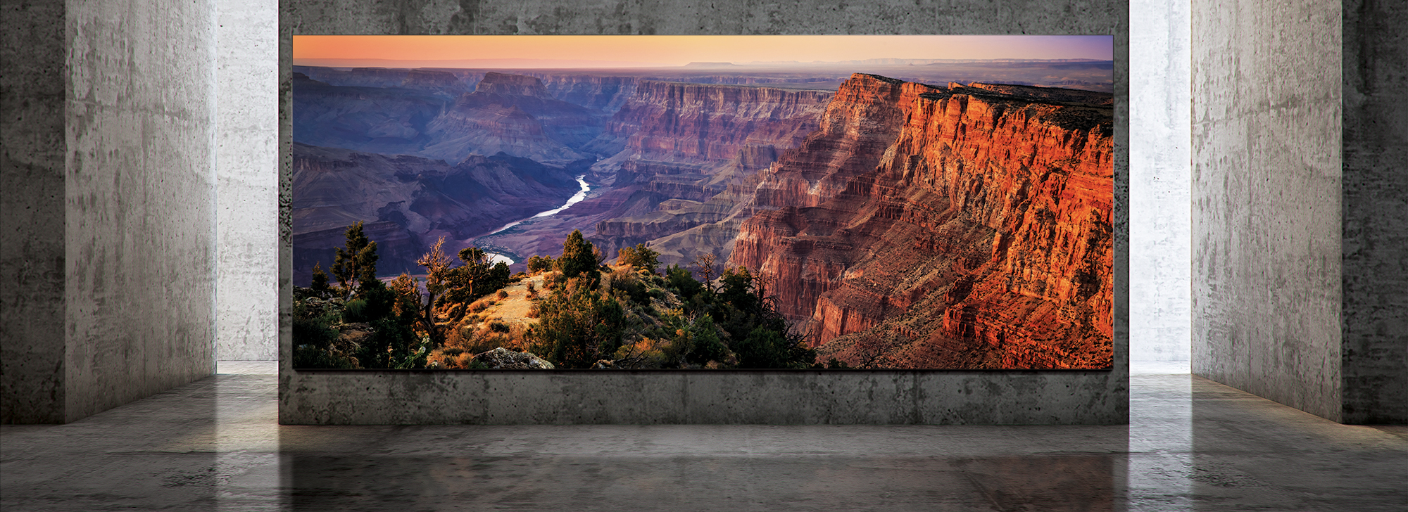 Samsung Wall Luxury TV 292-inch
