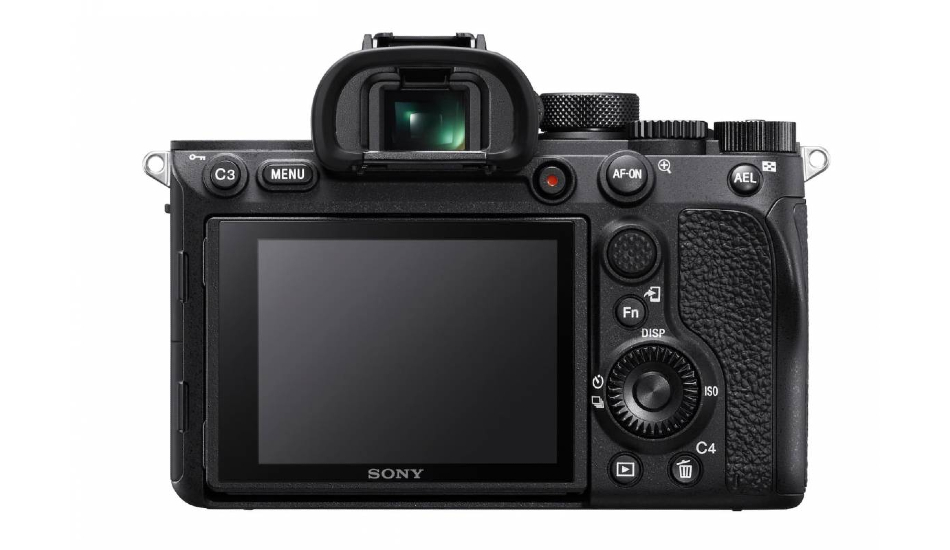Sony A7R IV 61MP full-frame mirrorless camera