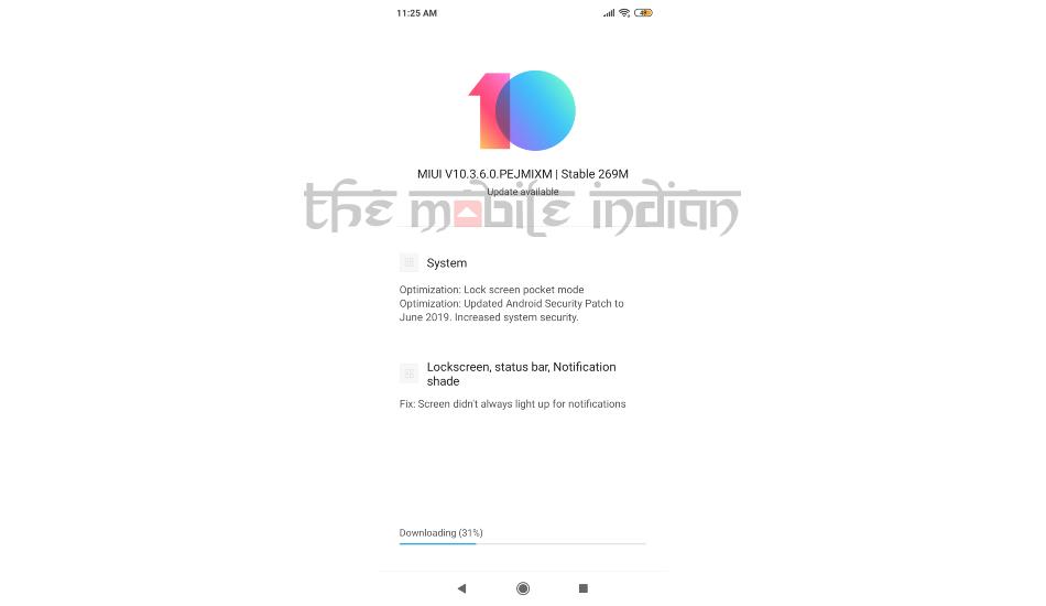 Xiaomi Poco F1 receives MIUI 10 3 6 0 update