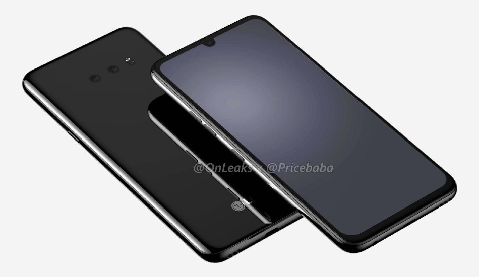 LG G8X Renders Leak, Tip Dewdrop Notch, Dual Rear Cameras, Headphone Jack