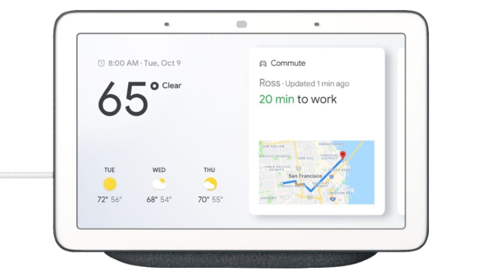 Google Nest Hub smart display