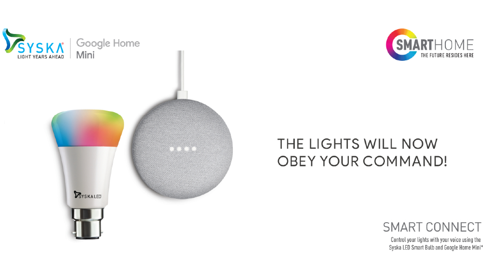 Syska Google Home Mini Combo