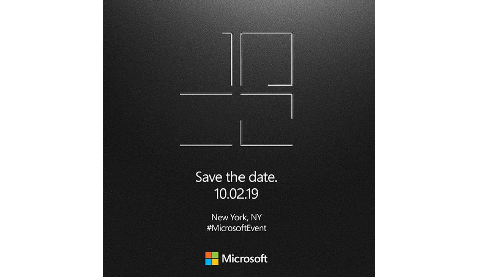 Microsoft Surface event October 2