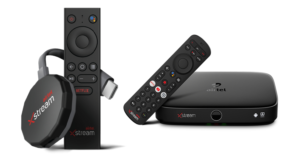 Airtel Xstream Stick and Xstream Box