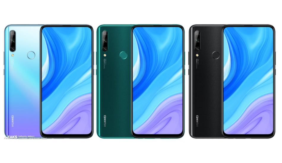 Huawei Enjoy 10 Plus press renders