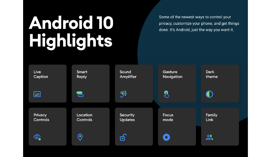 Google unveils Android 10