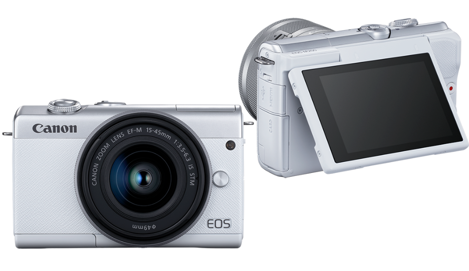 Canon EOS M200 24.1MP mirrorless camera