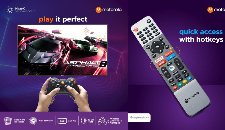 Motorola 75-inch 4K LED Smart Android TV